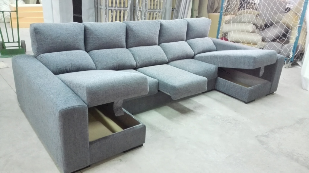 Sofas chaise longue madrid couches with chaise lounge - Sofa con chaise longue barato ...