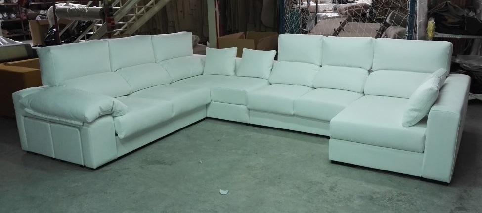 F brica de sof s y colchones sofa rinconera madrid for Sofas de calidad en madrid