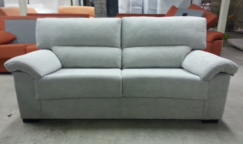 F brica de sof s y colchones sofa 3 plazas roma for Fabricantes de sofas en espana