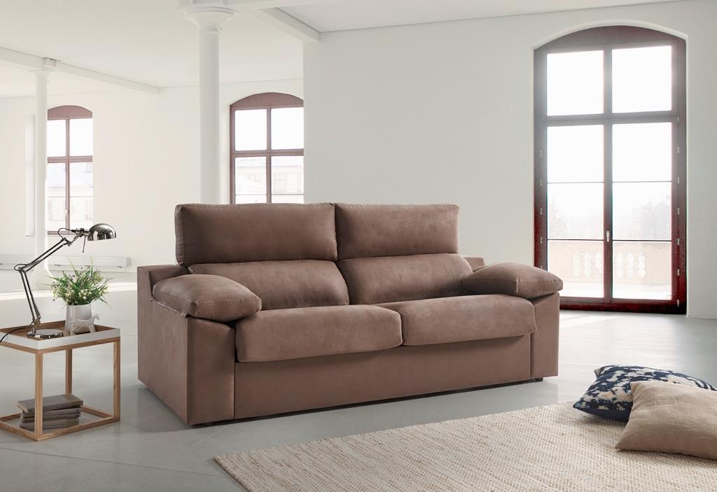 F brica de sof s y colchones sofa 3 plazas cama sistema for Sofas cama dos plazas sistema italiano