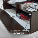 Canapé Scarpa Zapatero Puerta